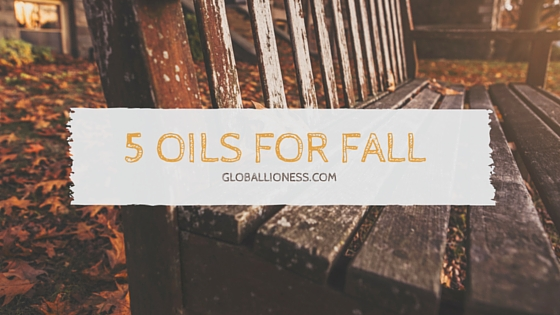 5 oils for fall