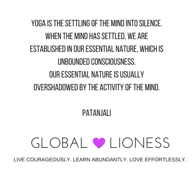 Yoga is the settling of the mind into silence. When the mind has settled, we are established in our essential nature, which is unbounded Consciousness. Our essential nature is usually overshadowed by the activity of t.jpg
