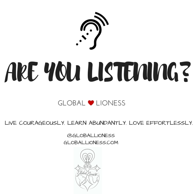 ARE YOU LISTENING-